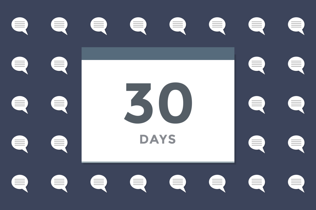 Three hundred programming interviews in thirty days
